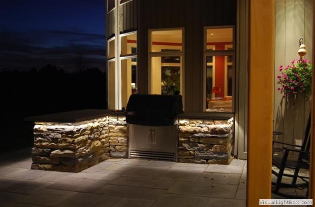 Led lighting for Lighting for outdoor kitchen